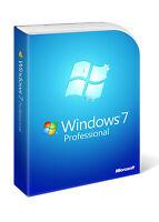 Microsoft Windows 7 Professional Lizenz sofort aktivierung