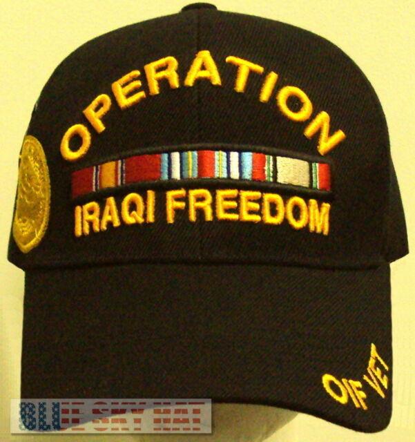 OPERATION IRAQI FREEDOM VETERAN PURPLE HEART W// CAMPAIGN RIBBONS PATCH OIF