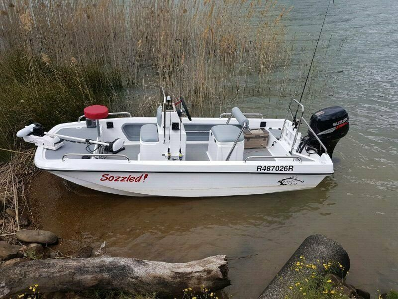 Bandit 410 Cathedral hull utility boat