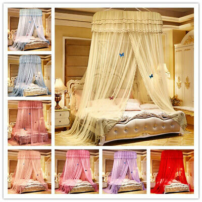 Princess Bed Canopy Netting Curtains Mosquito Net Bedding Dome Tent Hanging  King   eBay