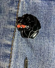 Black Labrador Dog Design Metal Enamelled Pin Badge Lapel Badge XJKB12-60