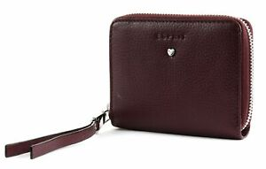 ESPRIT-Honey-Medium-Zip-Wallet-Geldboerse-Bordeaux-Red-Violett-Neu