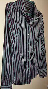 Ben-Sherman-Ladies-Business-Shirt-EUC-RRP-99-Combined-Post-X-small