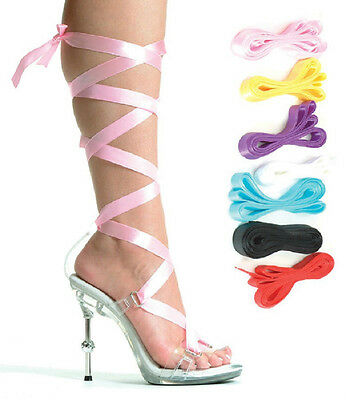 """Ribbons Sizes 5-12 458-BALLERINA Lace-up Sandals Clear W// 4.5/"""" Metallic Heels 7"""