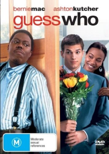 1 of 1 - Guess Who (2005) Ashton Kutcher, Bernie Mac, Zoe Saldana - NEW DVD - Region 4
