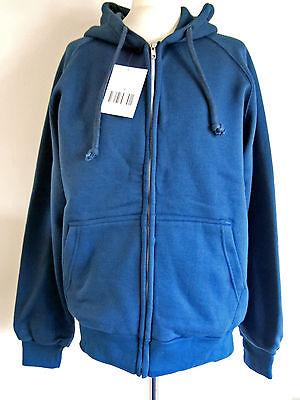 rrp$69 thermal lined,hooded,zipped  orange sweatshirt m-2xl,Snap n/' wear USA