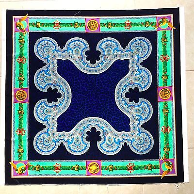 Medusa Barocco High Quality Velvet Fabric Panel