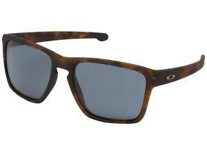 53a7a46de5f4b Oakley Silver XL OO9341-26 Sunglasses Matte Brown Toritoise Prizm ...