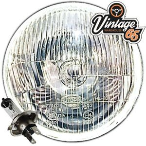 Classic-5-amp-3-4-034-Sealed-Beam-Headlight-Conversion-Halogen-Headlamps-Bulb-Non-Pilot
