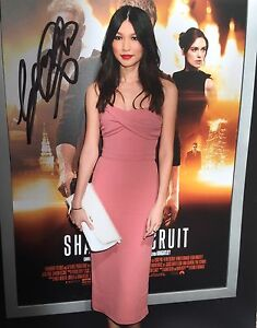 Gemma-Chan-signed-10x8-Image-D-photo-UACC-registered-dealer-COA-AFTAL