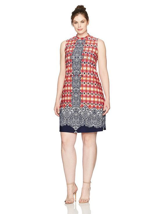 RM Richards Plus Plus Plus Size 18W Beaded Waist Halter Gown Red ...