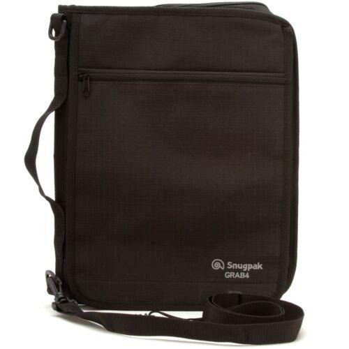 Snugpak Grab A4 Document Holder Black– One Size