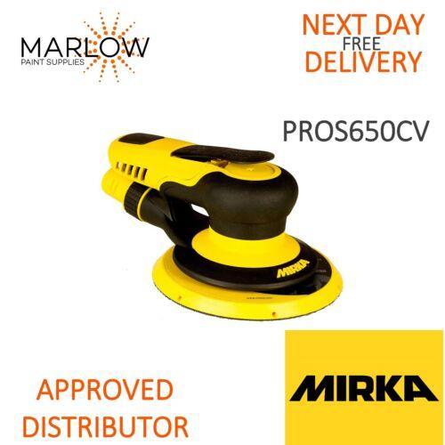 MIRKA PROS 650CV 150 m DA Air Sander 5 mm Orbite-CENTRAL vide livraison le jour suivant *