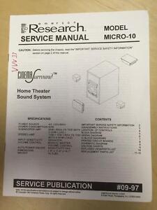 emerson service manual for the micro 10 home theater sound system mp rh ebay com emerson research smartset alarm clock manual emerson research ic200bk manual