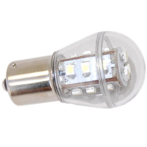 2-Pack Étanche BA15s Base LED Ampoule Pour Deere Tracteur AD2062R Cool Blanc