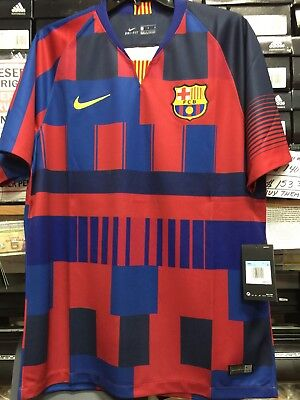 Chispa  chispear Ahora Prueba de Derbeville  Nike Fc Barcelona 20 Years Limited Edition 2019 Size Small Only | eBay