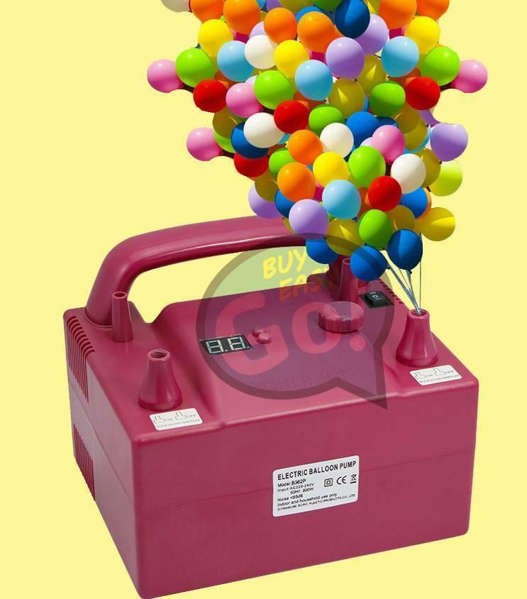 Timing Quantitative 2 inflation Buse électrique Ballon Pompe 680 W B362P nouveau