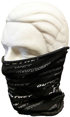 Made in Italy by Outwet running Red NECK GAITER for cycling skiing hiking