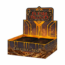 Flesh and Blood TCG Crucible of War Booster Box NEW SEALED 1st Edition!
