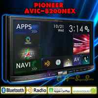 "Pioneer Avic-8200nex Flagship In-dash Gps Av Receiver 7"" Wvga Display Carplay"