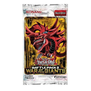 YuGiOh Battle Pack 2 War of the Giants Booster Pack