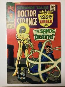 Strange-Tales-158-Marvel-Comic-Book-1st-Full-Living-Tribunal-VG-FN