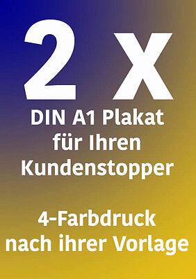Posterdruck Plakatdruck Bilderdruck Poster Druck in DIN 4x A0 150g//m² matt