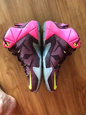 reputable site 8c7ca 6bdde Nike Lebron 12 XII DOUBLE HELIX Mens Basketball Shoes 684593-607 Size 10.5  NEW 888408127853 | eBay
