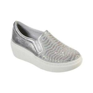 Skechers-Women-039-s-Goldie-Hi-Diamond-Waves-Slip-On-Sneaker