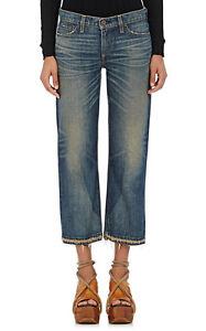 Simon Miller Parker Wide Leg Crop Jean Vintage Wash 25 26 27 NWT $330