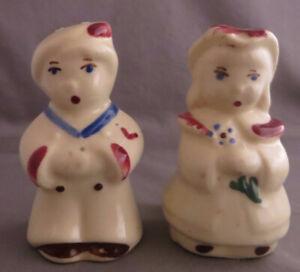 Vintage-Shawnee-Boy-Blue-Bo-Peep-Salt-Pepper-Shakers