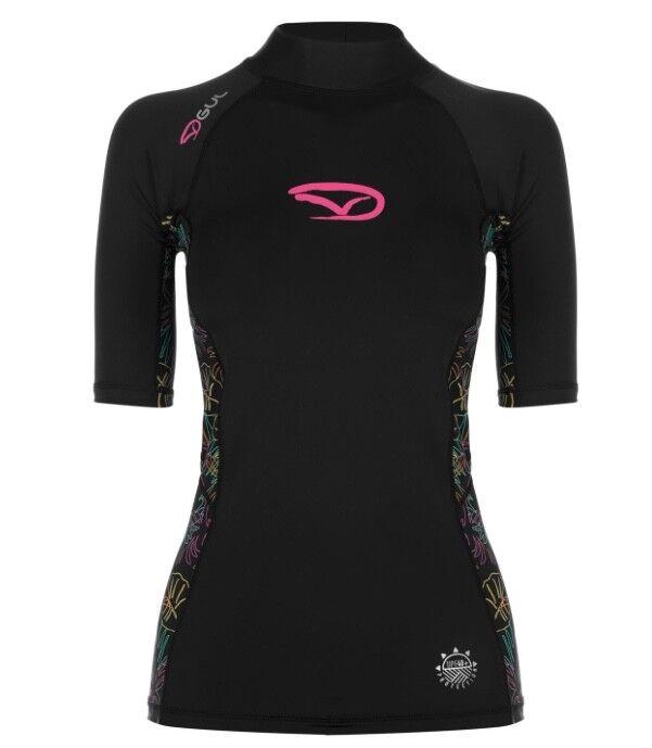 GUL Damen unter Neopren kurzarm Ausschlagsweste Schwimm Sonnen shirt Schwarz    | Elegante Und Stabile Verpackung  | Bestellungen Sind Willkommen  | 2019