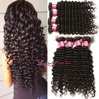 7a Filipino Deep Wave Curly Virgin Hair 1/3 Bundles Filipino Human Hair Weaving