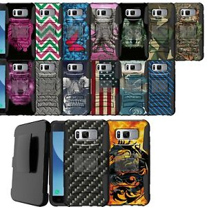 Case-for-Samsung-Galaxy-Note-5-Rugged-Dual-Layer-Holster-Combo-Stand