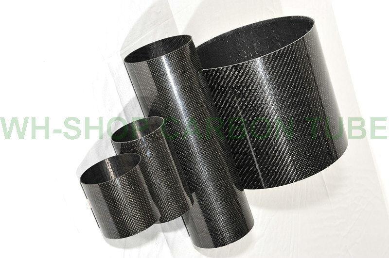 3k autobon Fiber Tube OD50 OD50 OD50  ID 44mm 46mm 47mm 48mm Roll Wrapped  X L1000mm b53c0a