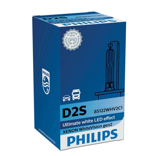 PHILIPS XENON WHITEVISION GEN2 GLÜHBIRNE FERNSCHEINWERFER D2S 85V 35W P32d-2