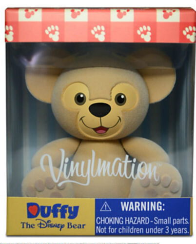 """Duffy the Disney Bear Vinylmation 3/"""" Figure in Box Sealed Hand Signed"""