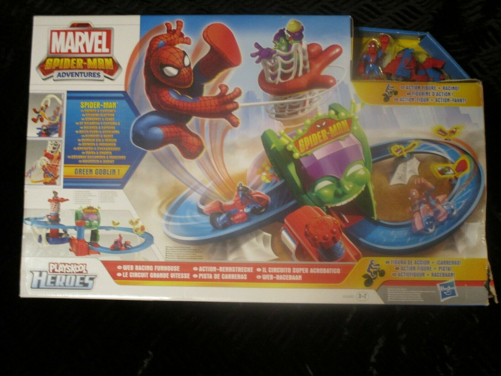 Marvel Spiderman Web Racing Funhouse