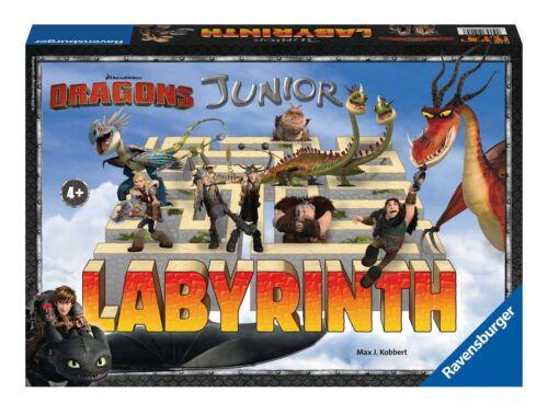 Labyrinthe-dragons Junior-ravensburger 21205-NEUF