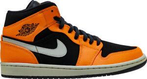 b530a112831 New Men's Air Jordan 1 Mid Retro Shoes (554724-062) Men US 12 / Eur ...