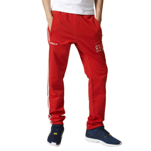 Trousers adidas Originals 83-C Trackpant Mens Tracksuit Pants Red