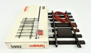 MARKLIN 1 GAUGE 5992 150MM STRAIGHT FEEDER TRACK
