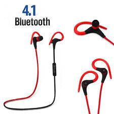 Bluetooth 4.1 Headset Sport Stereo Ohrhörer Kopfhörer für Telefon Samsung ipad
