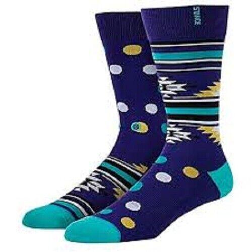9-13 Mix Match New Stance Casual 200 Esco FL Design Socks Men/'s Sz L//XL