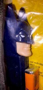Old-NIB-PEZ-Brand-Unopened-vintage-Dark-Blue-Batman-Dispenser-sealed-package-NIP