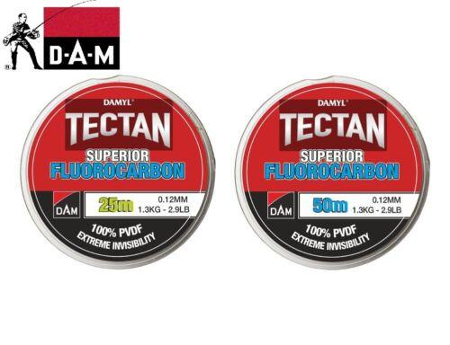 Damm Damyl Tectan Superior Fluorcarbon Fischen Anführer Line 25-50m 0.12-0.80mm