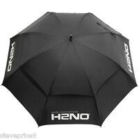 Sun Mountain H2no Double Canopy 62 Umbrella - Black.