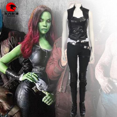 2 Cosplay Gamora Costume Full Set DFYM Guardians of the Galaxy Vol