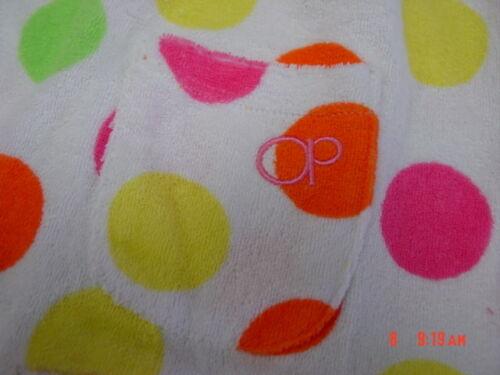 NWT Toddler Girls White Polka Dots Beach Coverup Sun Dress Op Summer Swim