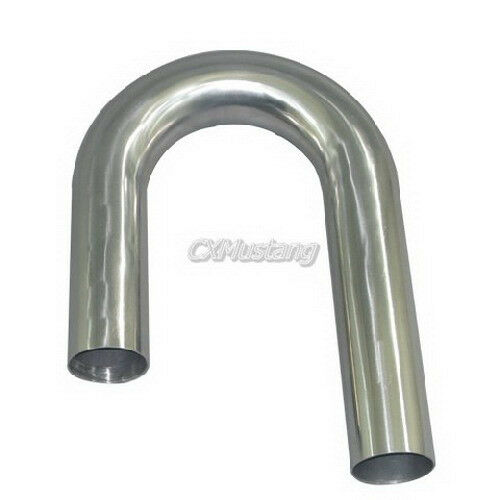 """2.5/"""" 24/"""" Long Straight 304 Stainless Steel Pipe Downpipe Manifold Header"""